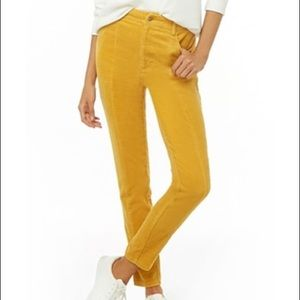 Forever 21 | High Rise Corduroy Skinny Pants